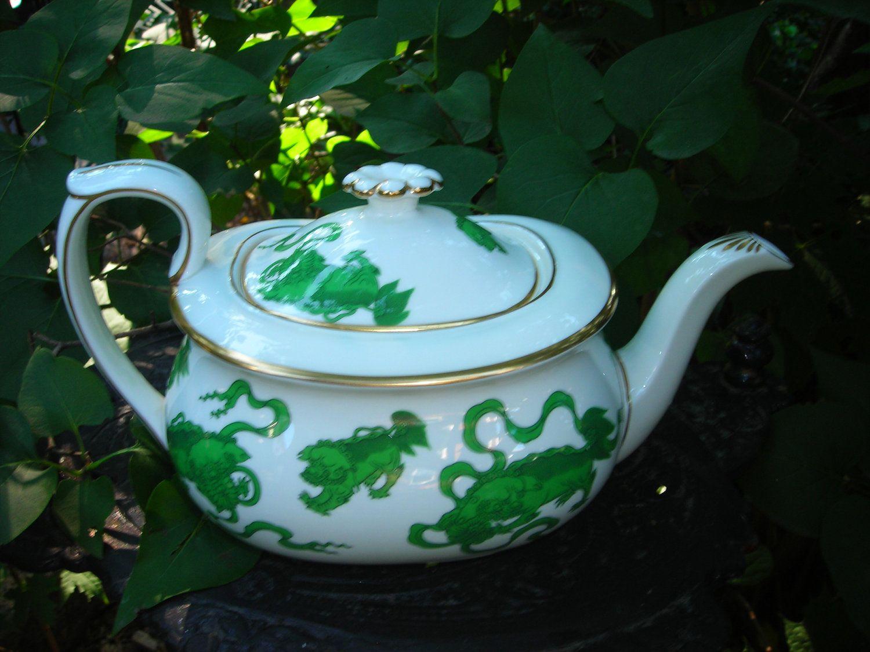 Gorgeous vintage Porcelier teapot. Nautical sailboat theme ...