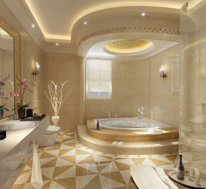 wohneinrichtung ideen badezimmer gestalten römischer stil - badezimmer gestalten ideen