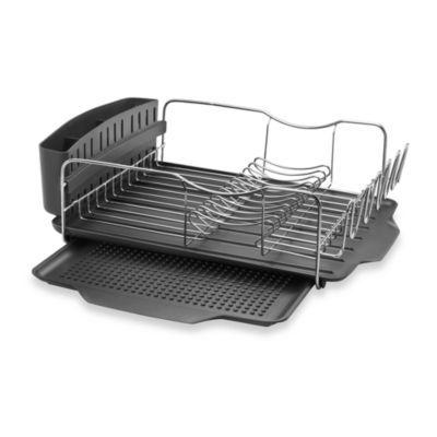 Polder Model Kth 615 4 Piece Advantage Dish Rack System Dish Rack Drying Dish Racks Modern Kitchen Sinks