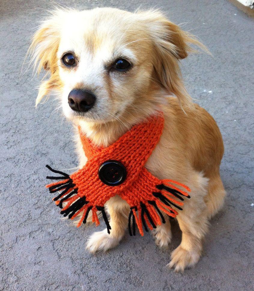 Custom Knit Pet Scarf