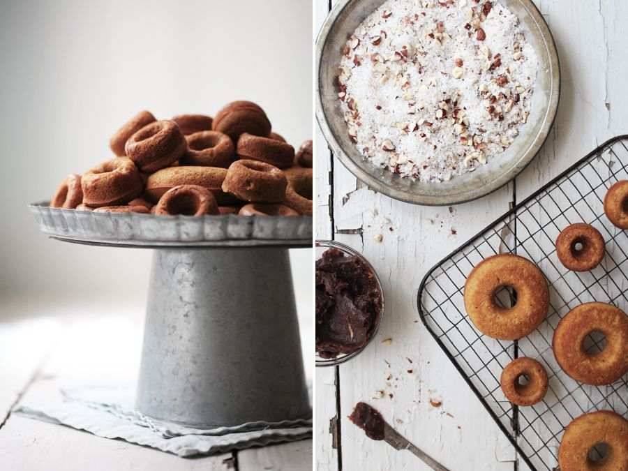 Cinnamon Roll Almond Flour Donuts from Roost Blog