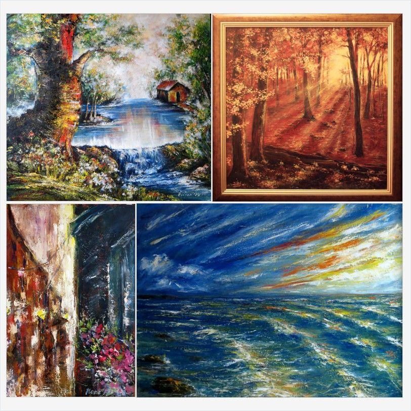 Original Landscape Oil Paintings For Sale Shop My Sale Horse Drawing Shop For Sale Https Www Etsy Com Shop Eletart Oilpaintingsforsale Landscape Citysc
