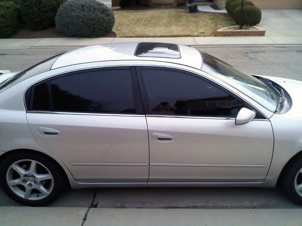 Black Window Tinting Film Will Provide Absolute Privacy And Absorb Sunlight Black Truck Tinted Windows Car Black Honda