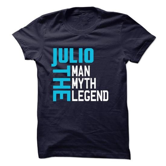 JULIO The Man-The Myth-The Legend 2015 Design - #shirt collar #awesome sweatshirt. SATISFACTION GUARANTEED => https://www.sunfrog.com/Names/JULIO-The-Man-The-Myth-The-Legend-2015-Design.html?68278