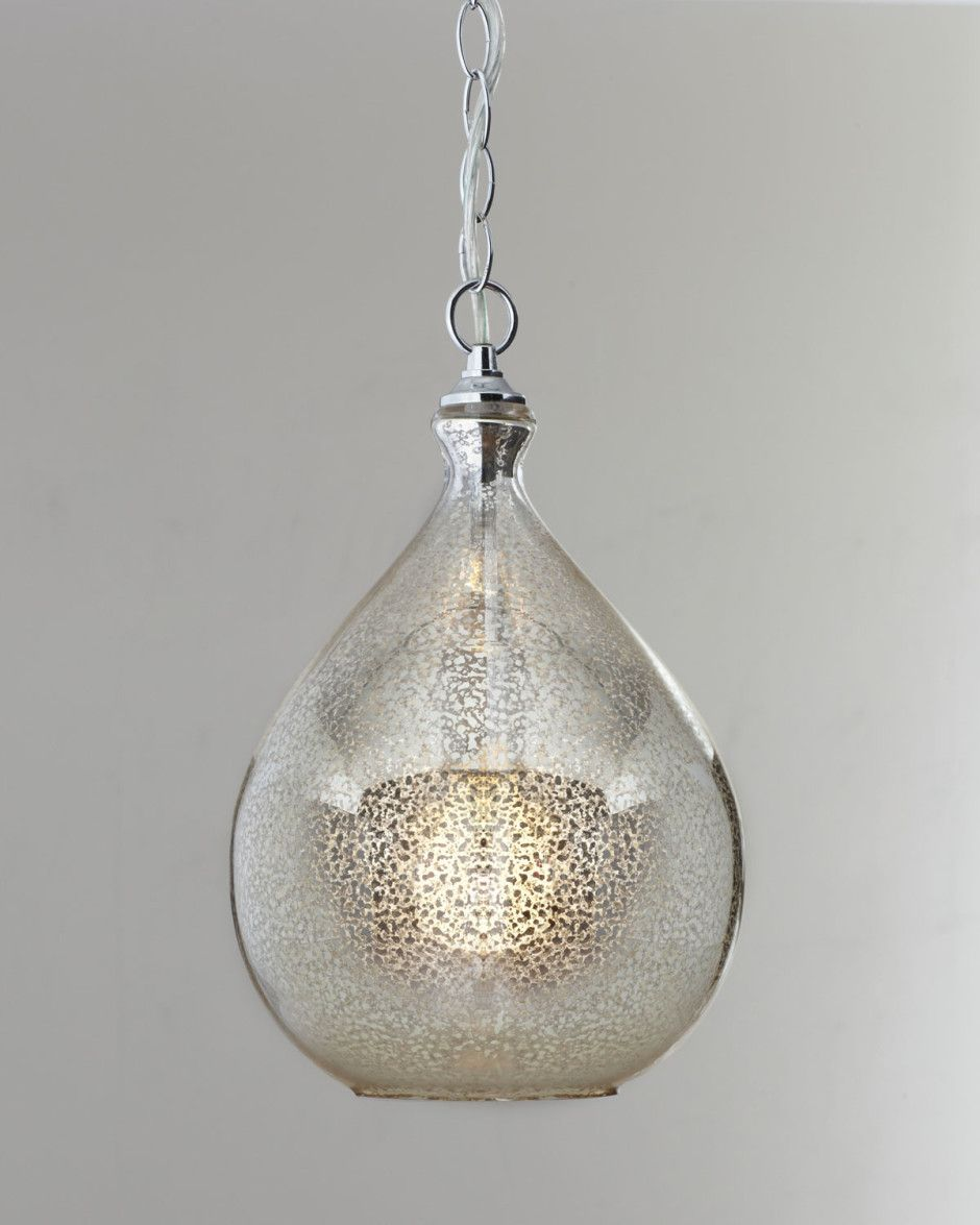 Mercury Glass Pendant Lights Mercury Glass Light Fixtures Mercury Glass Pendant Light Detail Neiman Marcus