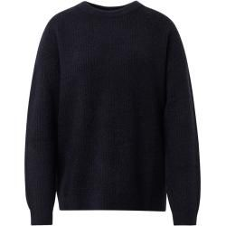 Photo of Tom Tailor women's sweater in rib optics, blue, plain-colored, size M Tom TailorTom Tailor