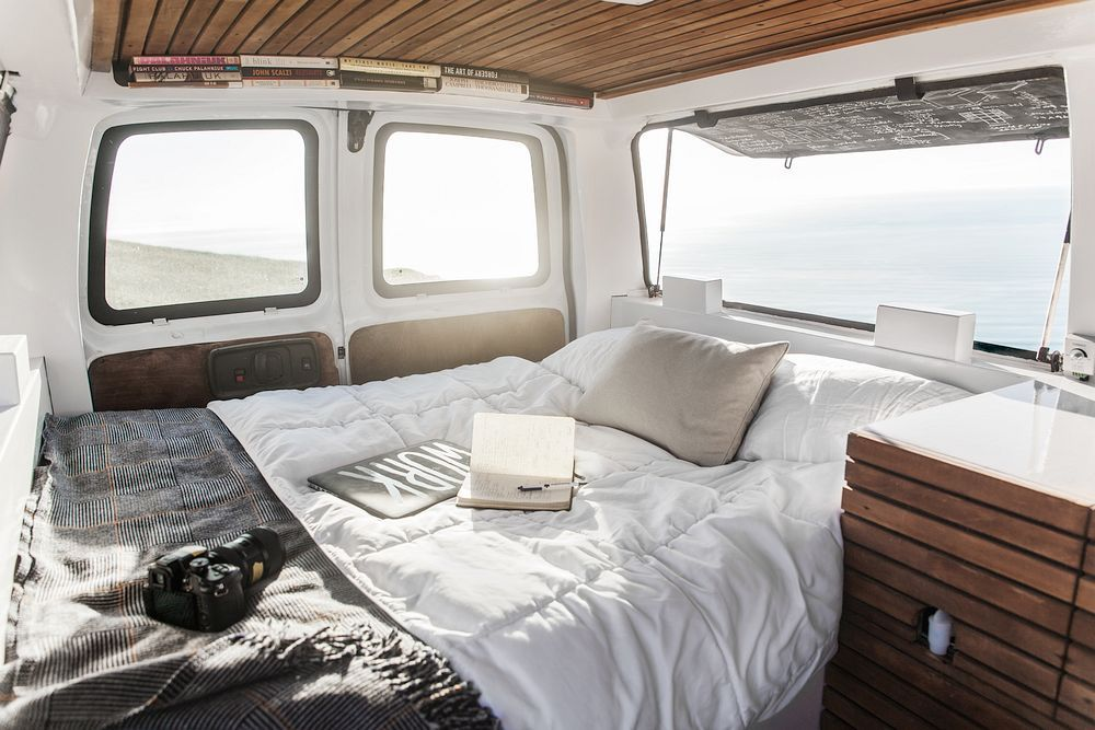 How To Transform An Old Van Into A Cool Mobile Home ... Awesome Bus Turned Into Mobile Home on bus with bullet holes, vw bus made into home, bus wheelchair inside, bluebird bus tiny home, school bus conversion into home, my bus home, hippie bus made into home, bus earrings, bus ride home,