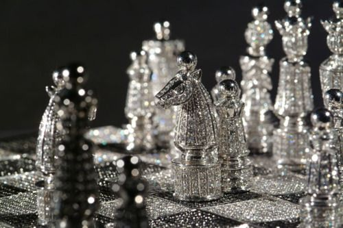 Crystal Chess Set...