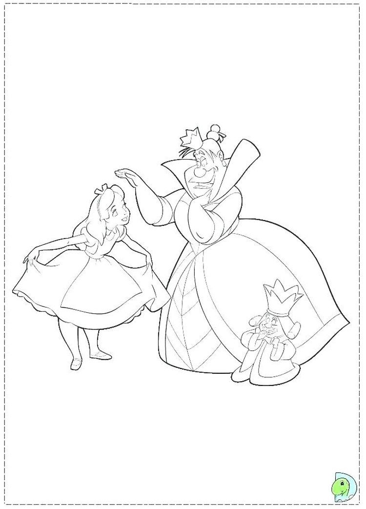 Alice In Wonderland Coloring Pages | Disney coloring pages ...