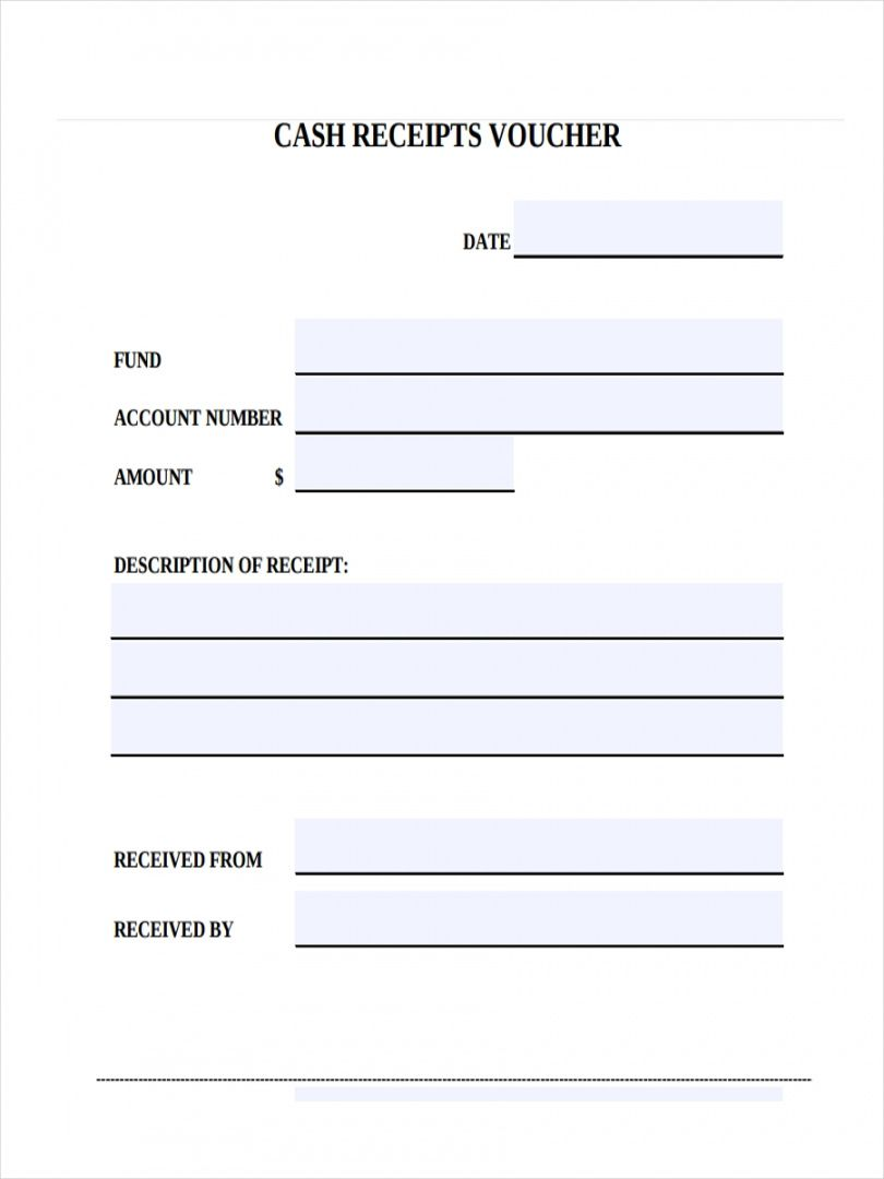 Get Our Printable Cash Refund Receipt Template Receipt Template Templates Voucher