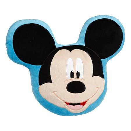 Mickey Mouse Hide Character Cushion Filled 40cm X 35cm