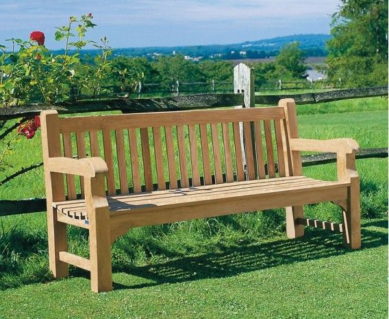 Surprising Balmoral Park Bench 6Ft Teak Street Bench 1 8M Outdoor Pabps2019 Chair Design Images Pabps2019Com