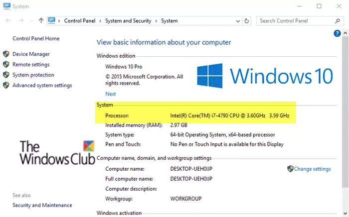 Processor Frequencies Do Not Match In Windows 10 In 2020 Windows 10 Processor Microsoft Corporation