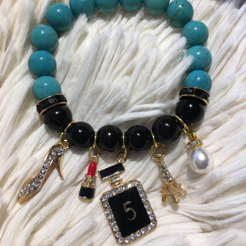 Chanel Inspired Charm Bracelet Chanel Inspired