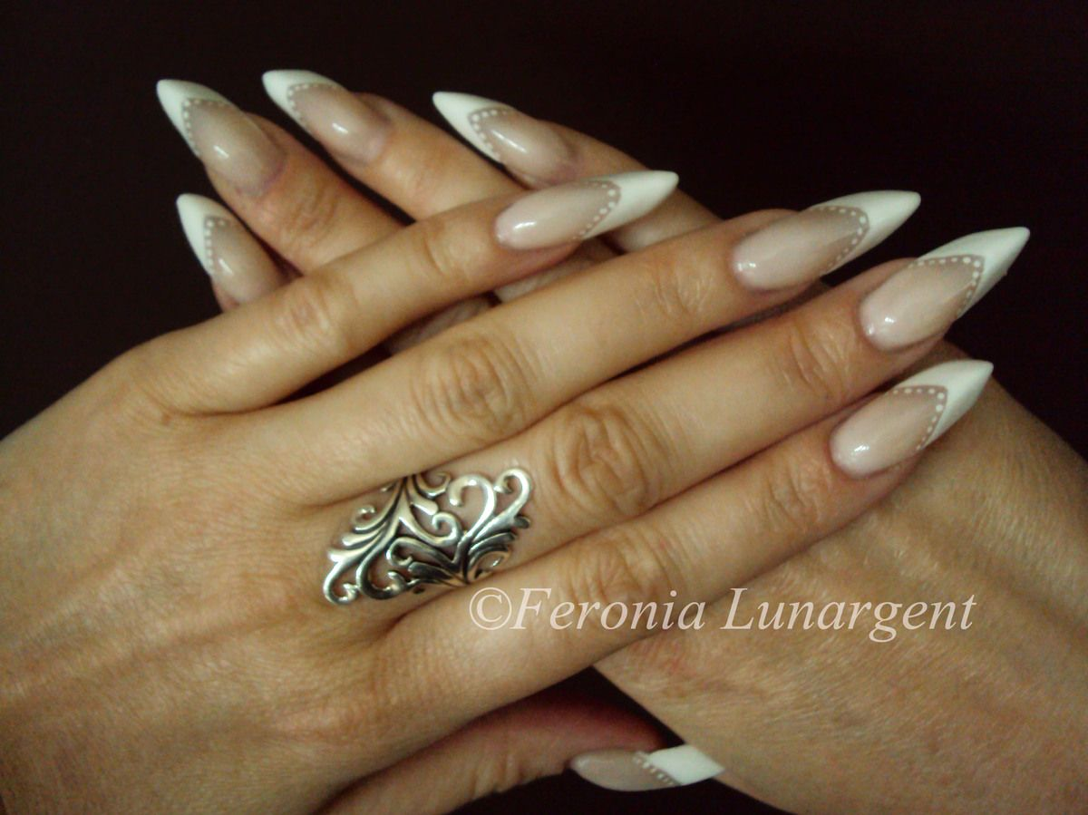 Kit Moyra French manicure - Nail art by Feronia | beauty stuff I ...