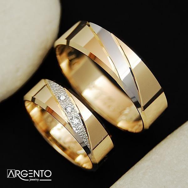 Argento Ekskluzywne Obraczki Slubne Exclusive Wedding Rings Engagement Rings Couple Jewelry Wedding Rings