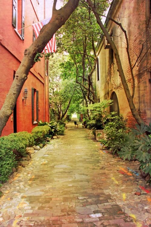 Charleston Streets. One day me and my DP will walk our Corgi down this street on our way home