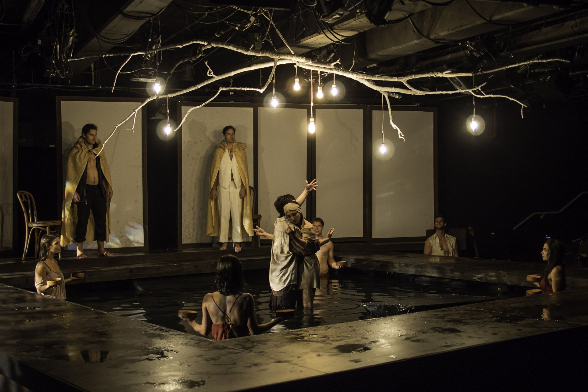 Mary Zimmerman's adaptation of Ovid's Metamorphoses...   Photo by: Rich Wagner