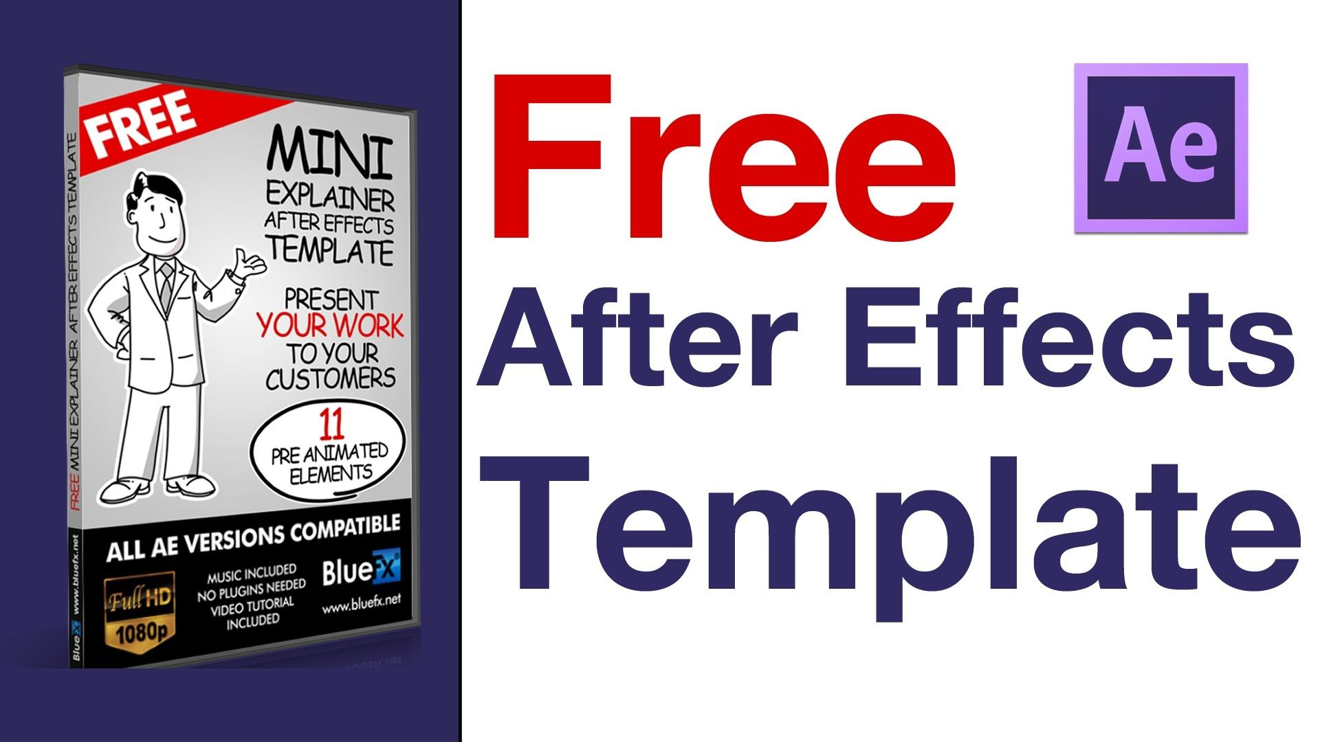 After Effects Templates The Video Explainer After Effect Template - Music video template after effects