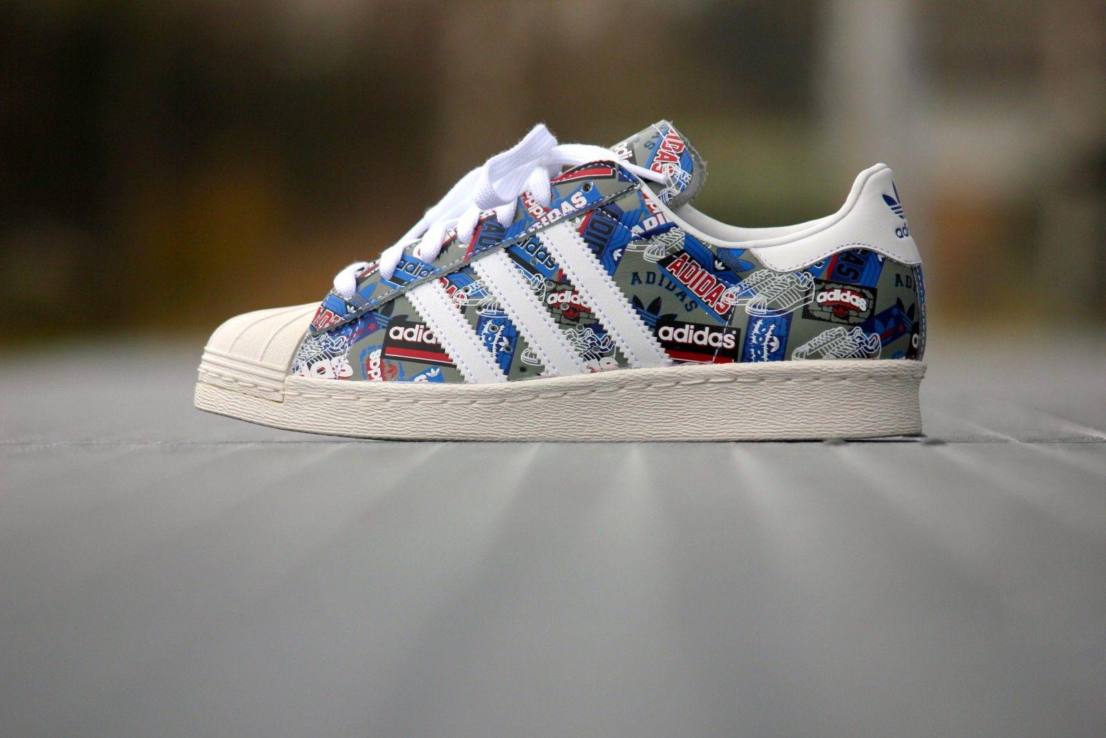 Adidas Superstar 80's B35768 Pioneer Pack by Nigo B35768 80's | Superstars 2b8830