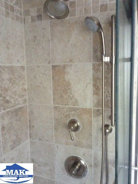 Master Bath Shower with Multi-head Shower System | MAK LaPlata, MD ...