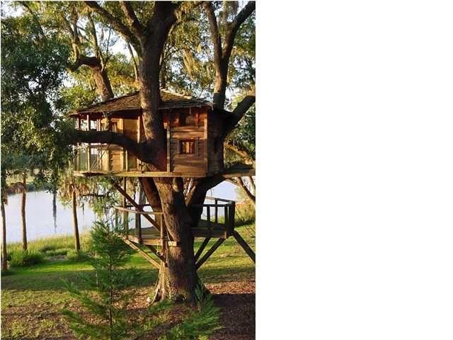 tree house! | Garden tree house, Tree house, Backyard on Hhh Outdoor Living id=28691