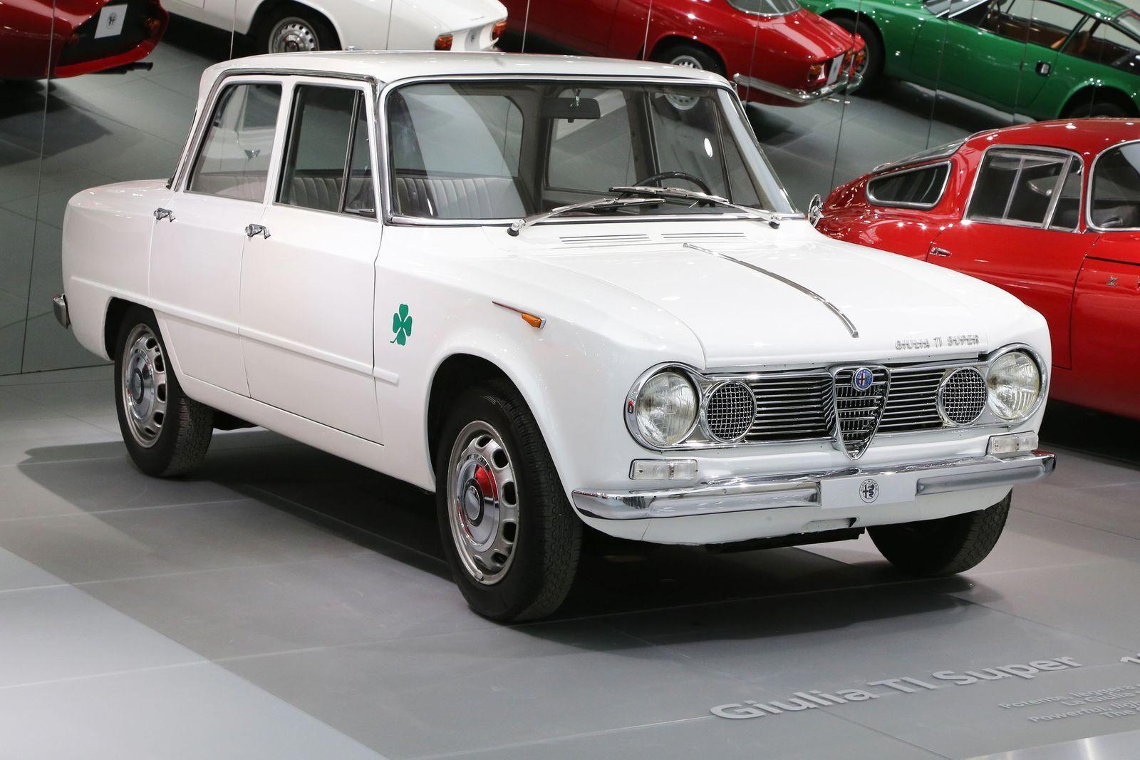 1963 Alfa Romeo Giulia Super TI AlfaRomeoclassiccars