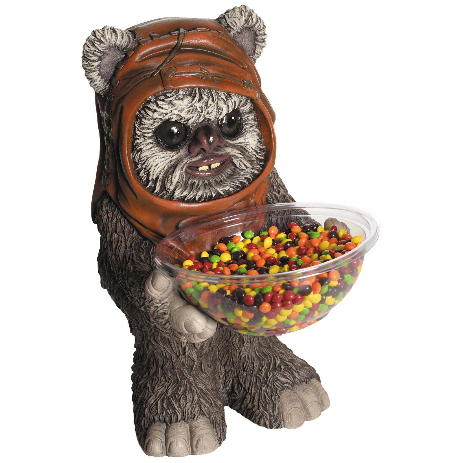 Star Wars Candy Bowl Holder Ewok//S/ü/ßigkeitenhalter aus Kunststoff