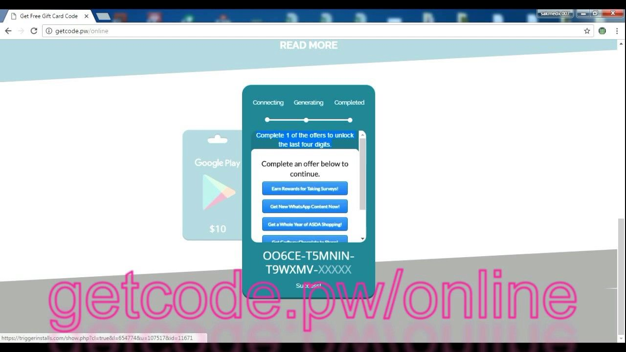 how to get redeem code for google play store