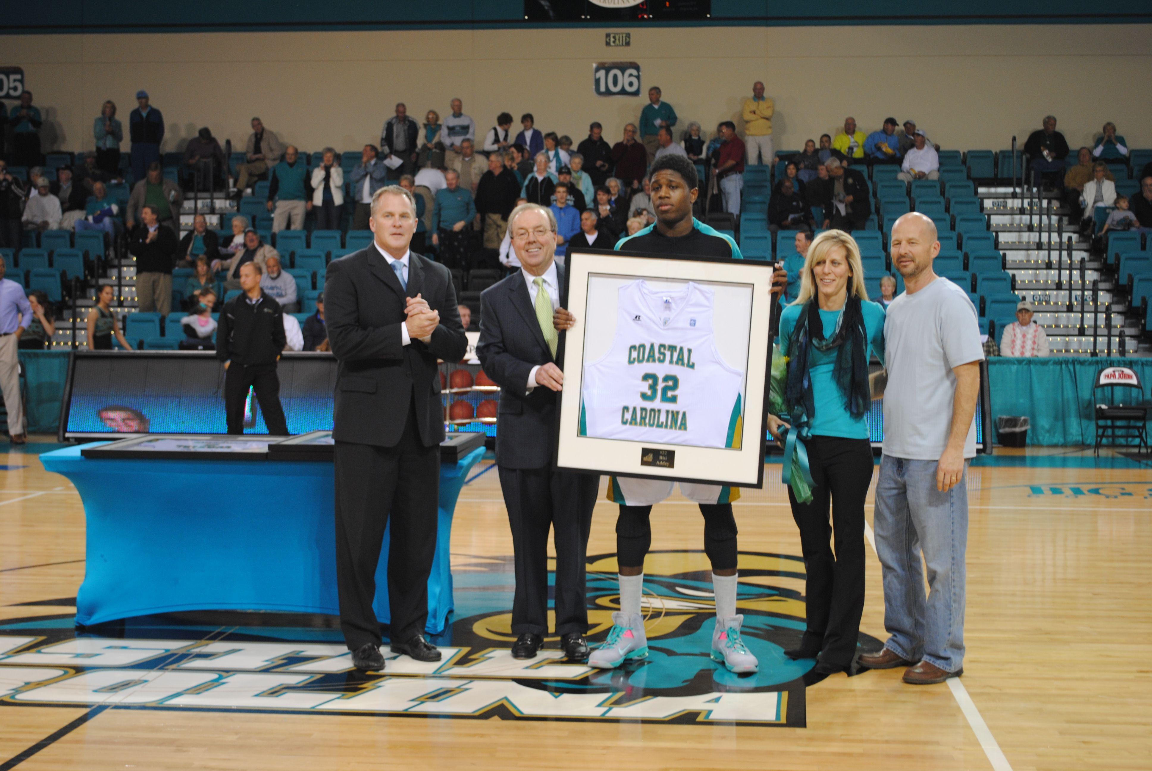 Senior Bisi Addey Mens Basketball Coastal Carolina
