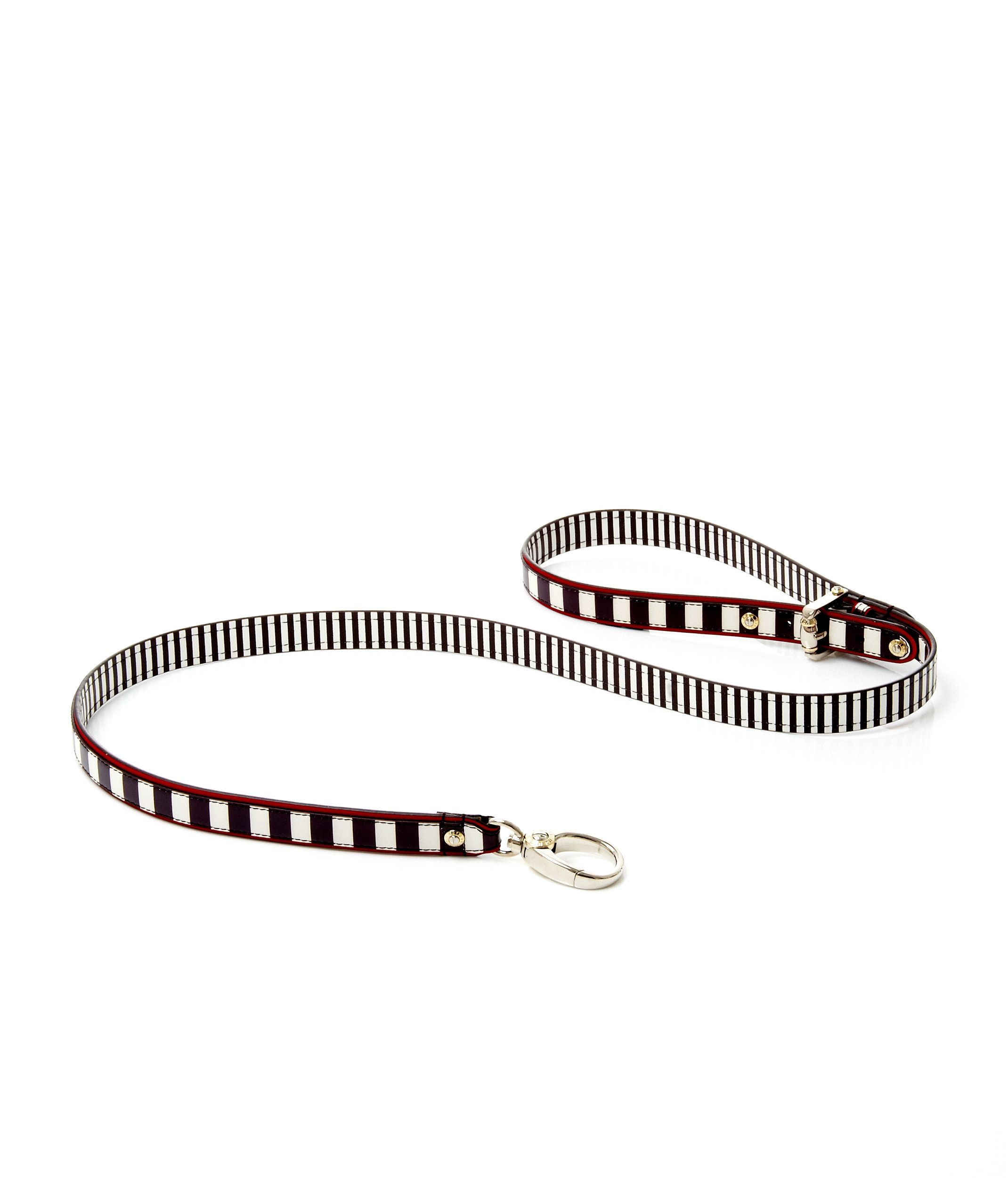Henri Bendel Stripe Dog Leash