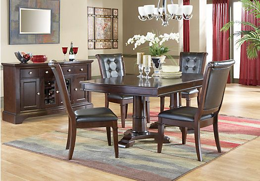 whitmore cherry dining room collection