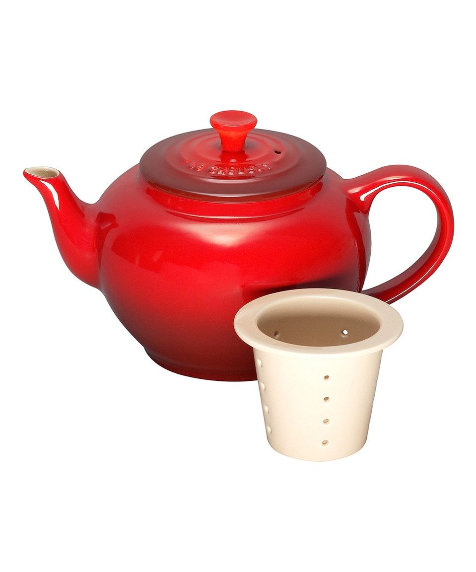 Take a look at this Cerise 22-Oz. Teapot & Infuser today!