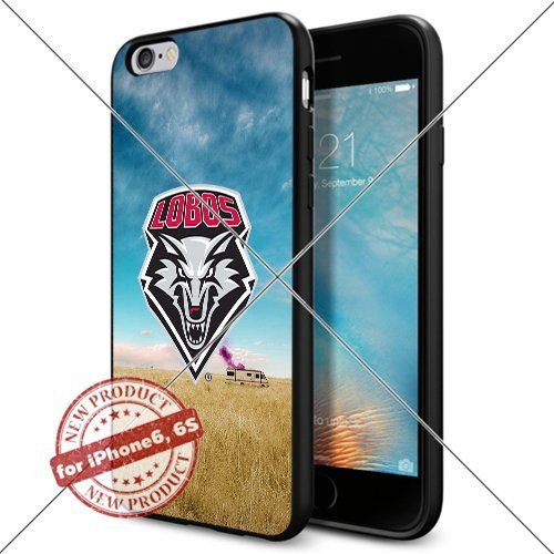 WADE CASE New Mexico Lobos Logo NCAA Cool Apple iPhone6 6S Case #1365 Black Smartphone Case Cover Collector TPU Rubber [Breaking Bad] WADE CASE http://www.amazon.com/dp/B017J7FWU4/ref=cm_sw_r_pi_dp_V2wxwb1RR44WG