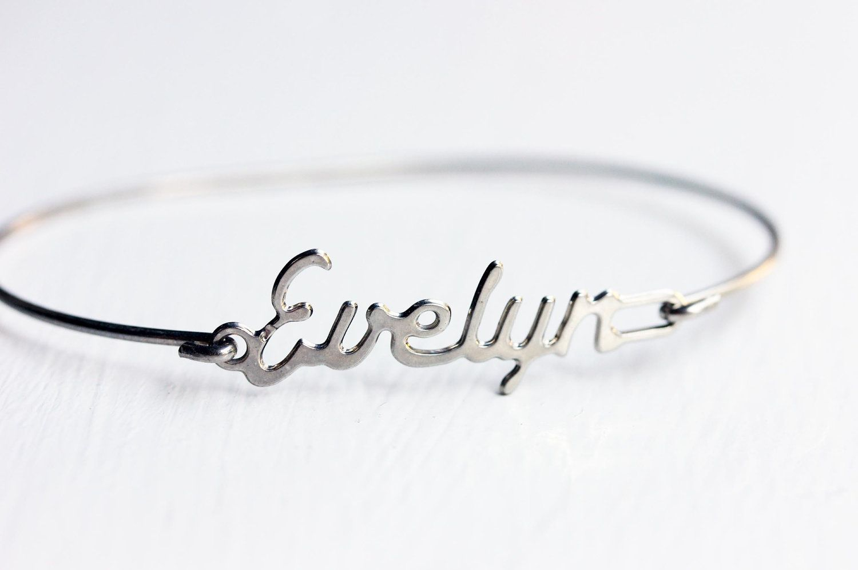 Vintage Name Bracelet - Evelyn | Wish List | Vintage names
