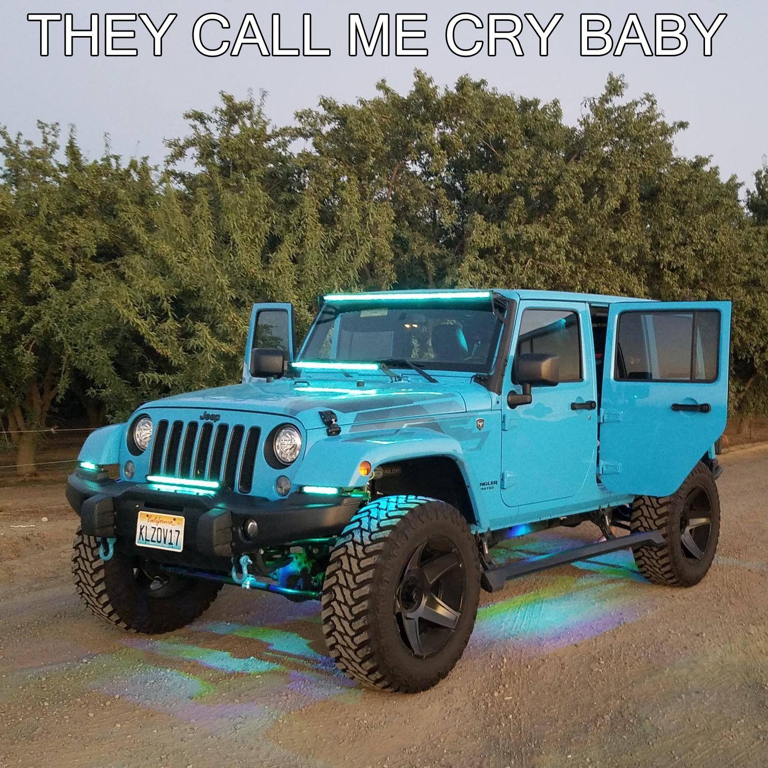 Baby Blue Jeep Jeepwrangler Blue Jeep Jeep Baby Blue Jeep