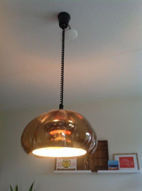 Design Lamp. 70 Er Jaren. Fabrikant Dijkstra.