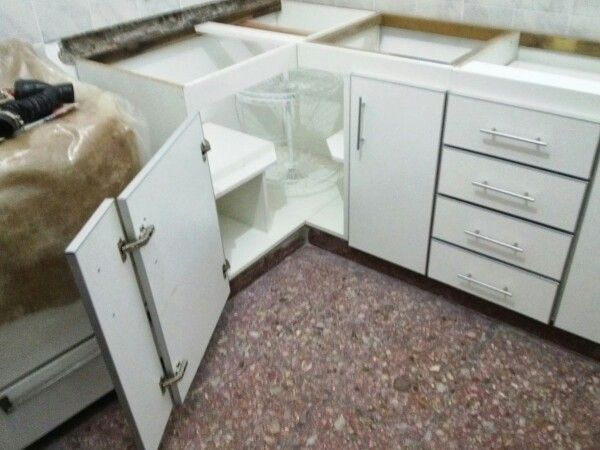 Esquinero bajo mesada bajo mesadas - Mueble esquinero cocina ...