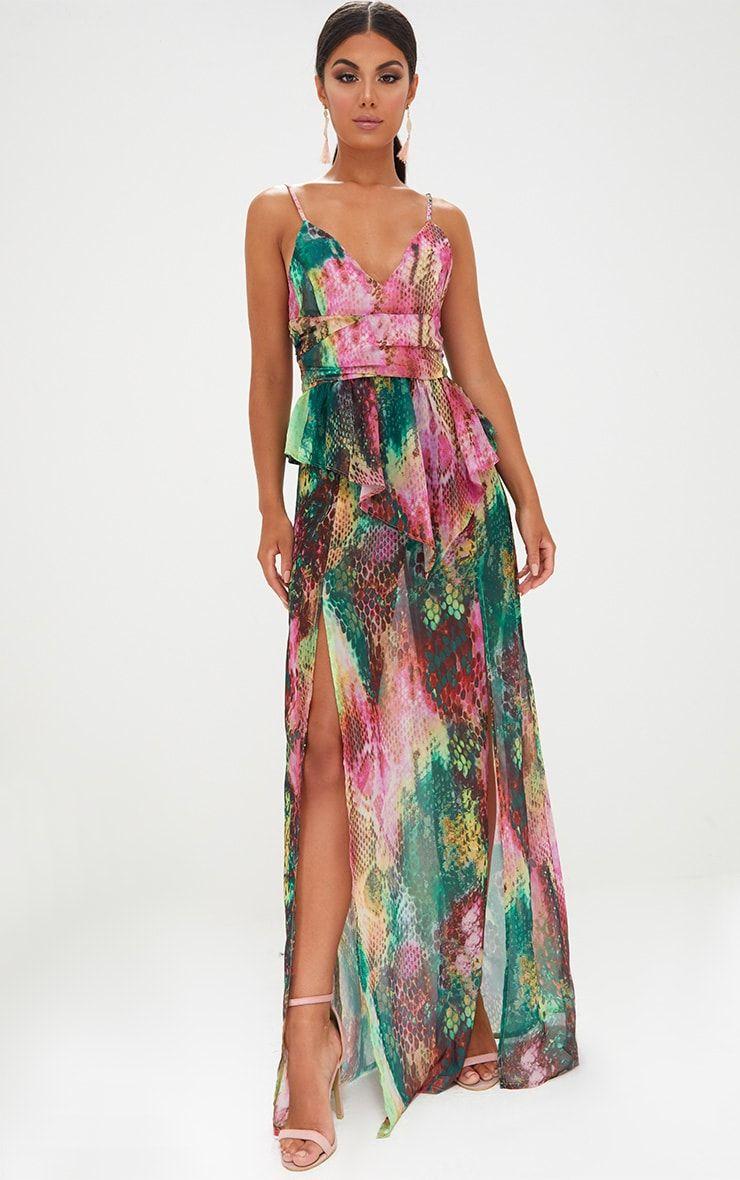 e9e05bf9d5 Image Snake Print, No Frills, Cheap Dresses, Long Dresses, Maxi Dresses,