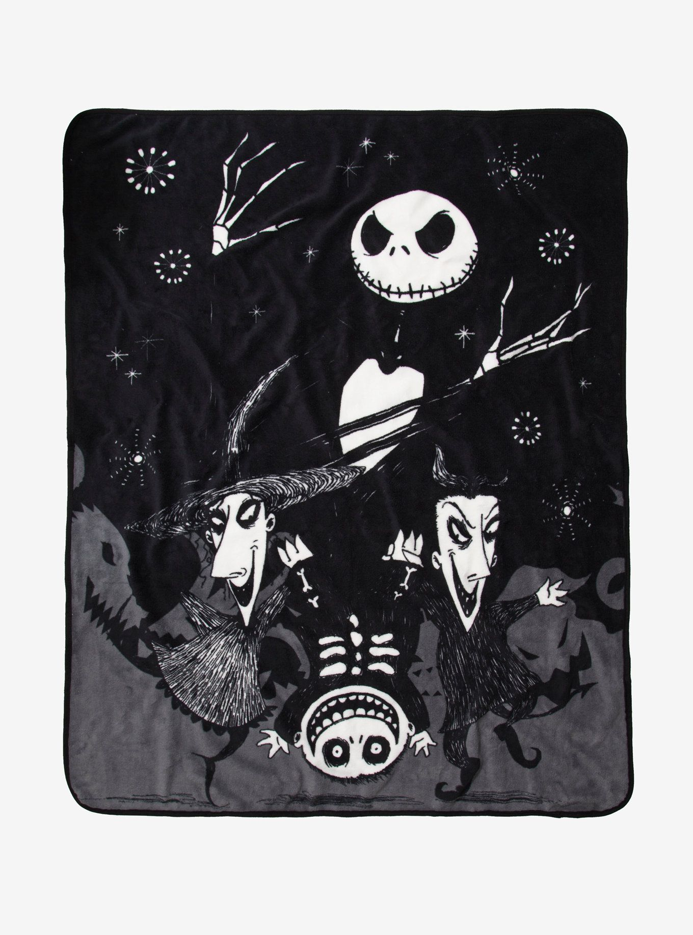 The Nightmare Before Christmas Jack With Lock Shock & Barrel Throw ...