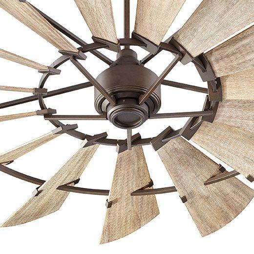 72 Windmill Fan By Quorum International Farmhouse Rustic