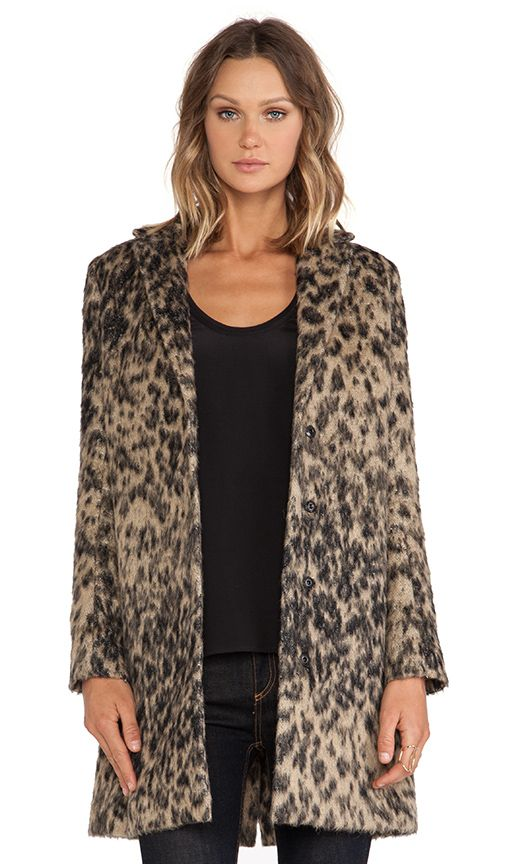 a331502c32cf Smythe Lab Coat in Vintage Leopard | REVOLVE | A WALK ON THE WILD ...