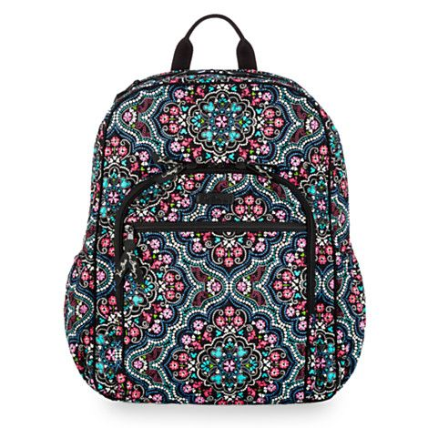 Mickey and Minnie Mouse Medallion Backpack by Vera Bradley ... 517a8836ed