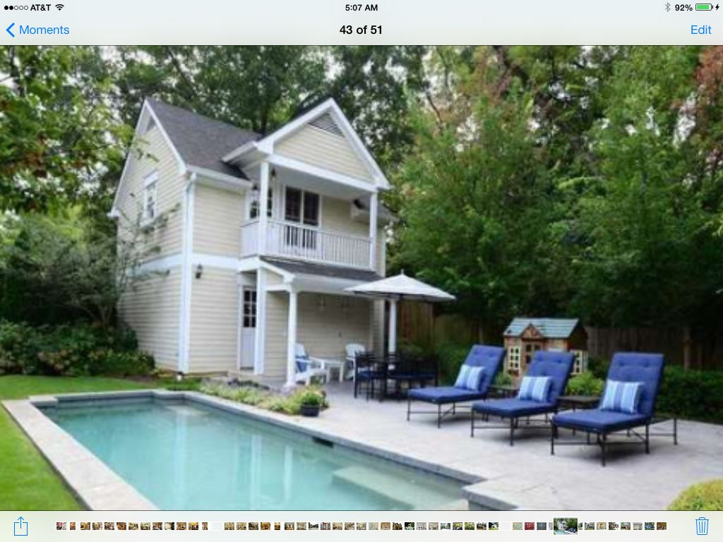 17 Photos And Inspiration Pool Guest House Plans