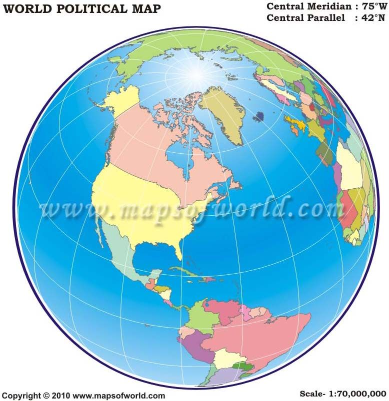 America centric world globe map around the globe pinterest map world globe map america centric depicts the world in a globe with america at its center gumiabroncs Choice Image