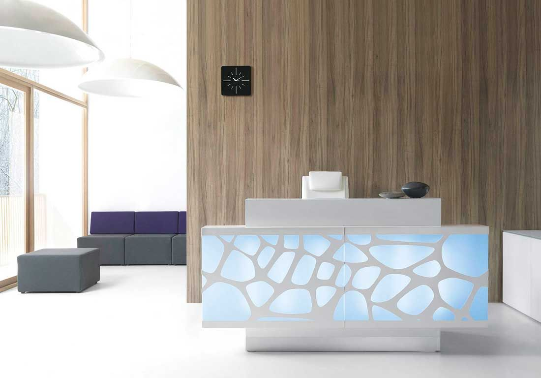 Reception desks contemporary and modern office furniture for Modern furniture companies