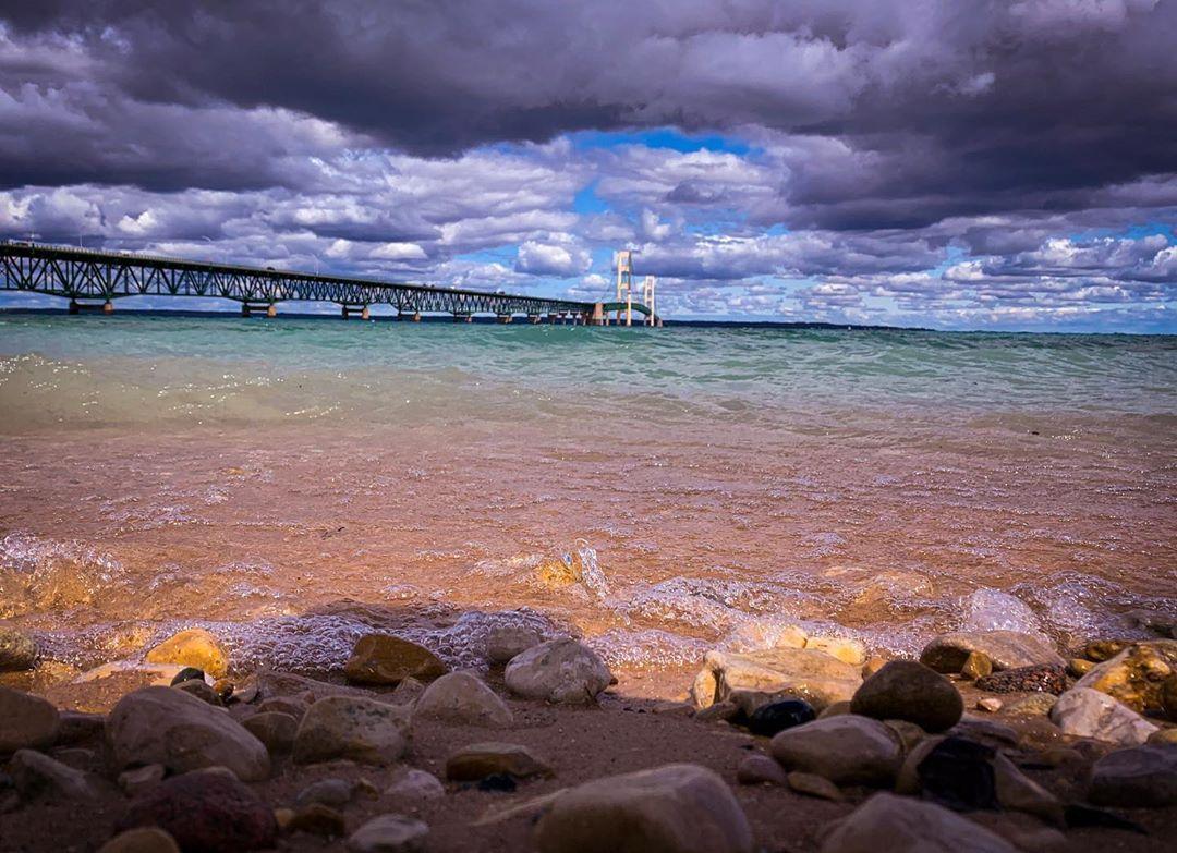 To A Weekend Away From Everything Normal Puremichigan Mackinawbridge Mackinawcity Puremitt Mackinaw City Mackinaw Bridge Weekends Away