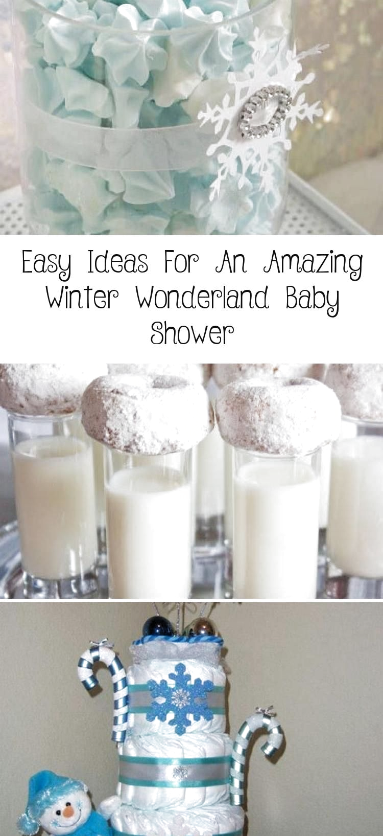 **Cold Outside Baby Shower Theme** Easy Ideas For An Amazing Winter Wonderland Baby Shower - ...