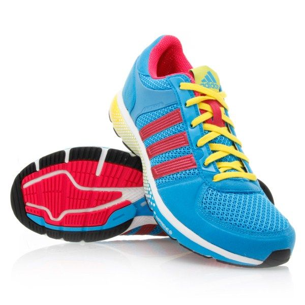 Adidas Atlanta 10 Womens Running Shoes Blue Pink Yellow White