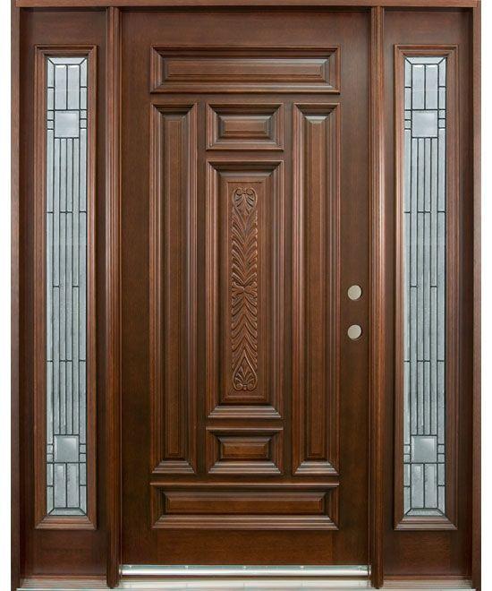 3f77594b0415d19f580b4b8fcccd1dc0 Brown Front Doors Wooden Front Doors Jpg 550 660 Wood Exterior Door Wood Front Entry Doors Wooden Front Door Design
